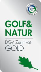 Gold Zertifikat Golf & Natur GOLD